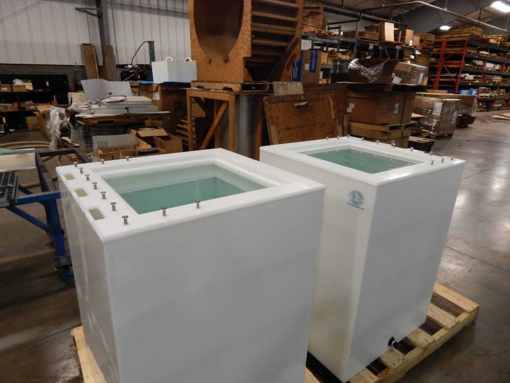 Custom polyethylene tanks miller plastic products