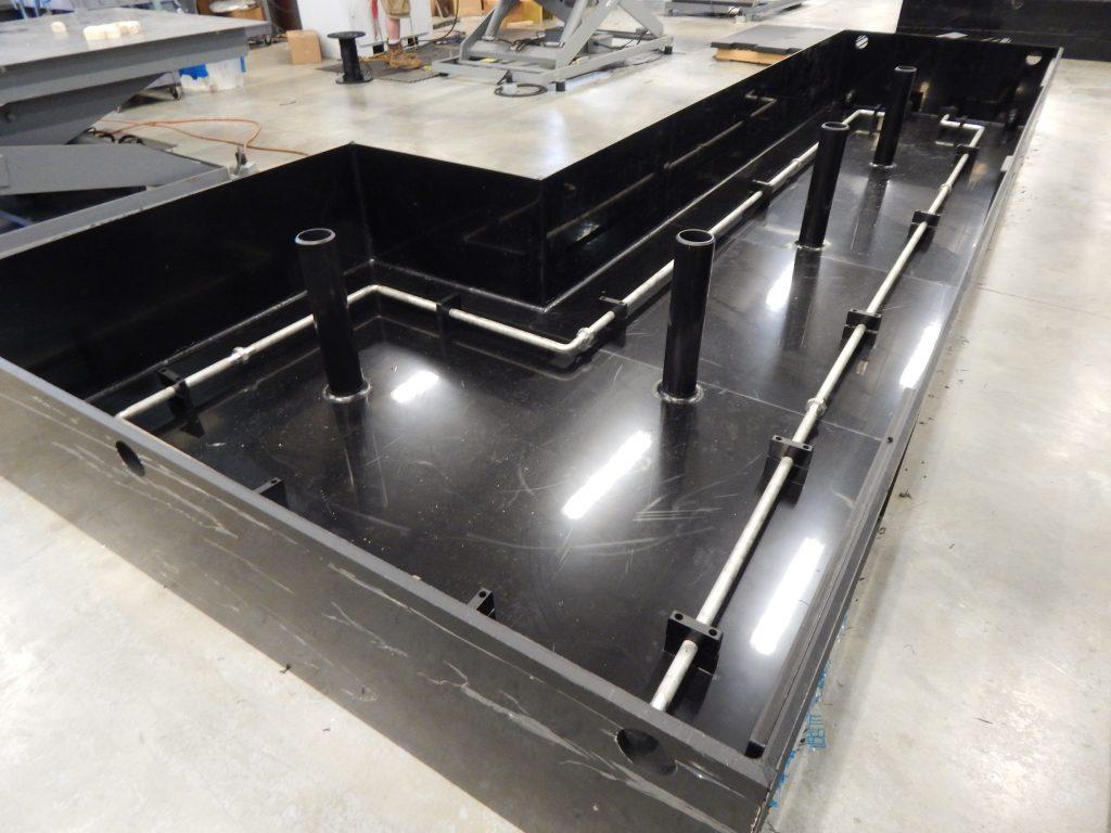 Plastic Holding Tanks For Restroom Trailers Custom