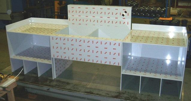 plastic laboratory sinks