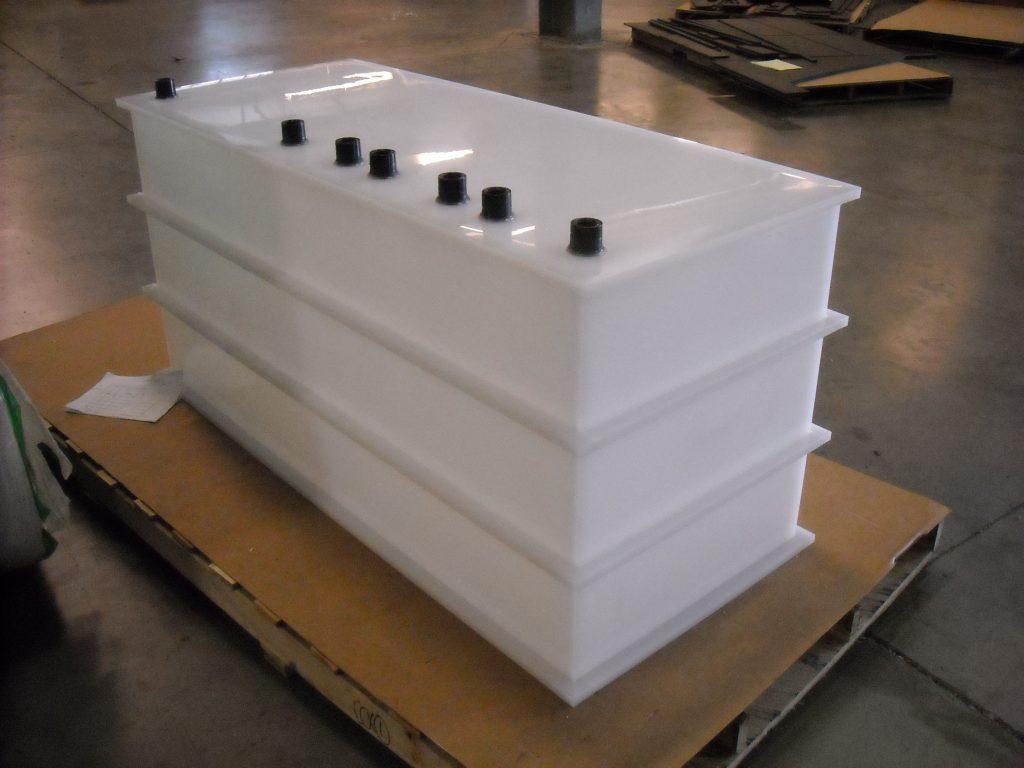 plastic rinse tank
