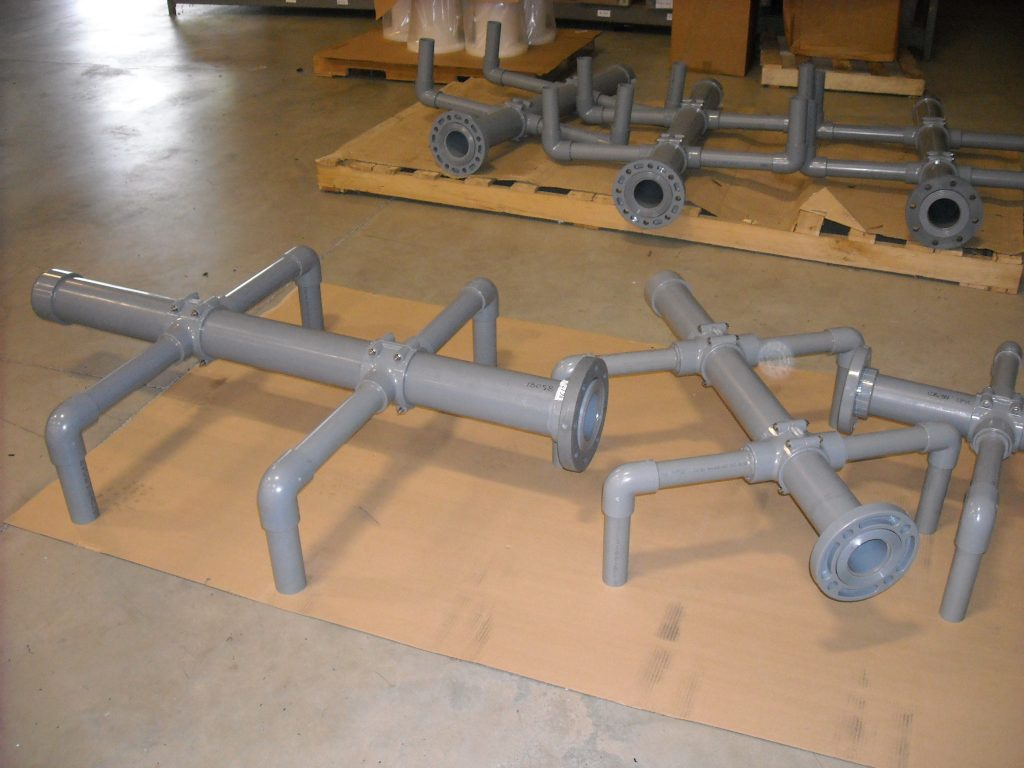 Plastic Pipes and Fittings   Custom Pipe Fabrication