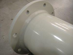 plastic duct fitting