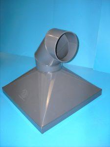 fabricated plastic ducting
