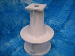 fabricated plastic part