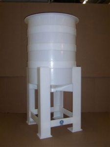 plastic holding tank