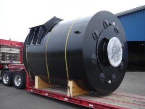 large cylindrical tank