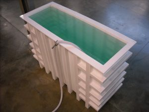 plastic reservoir tank