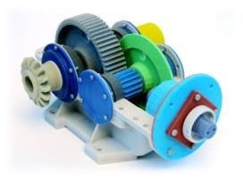 plastic gear assembly