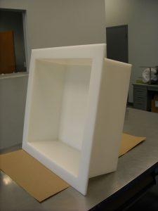 fabricated plastic tank