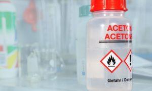 How Acetone Affects Certain Plastics